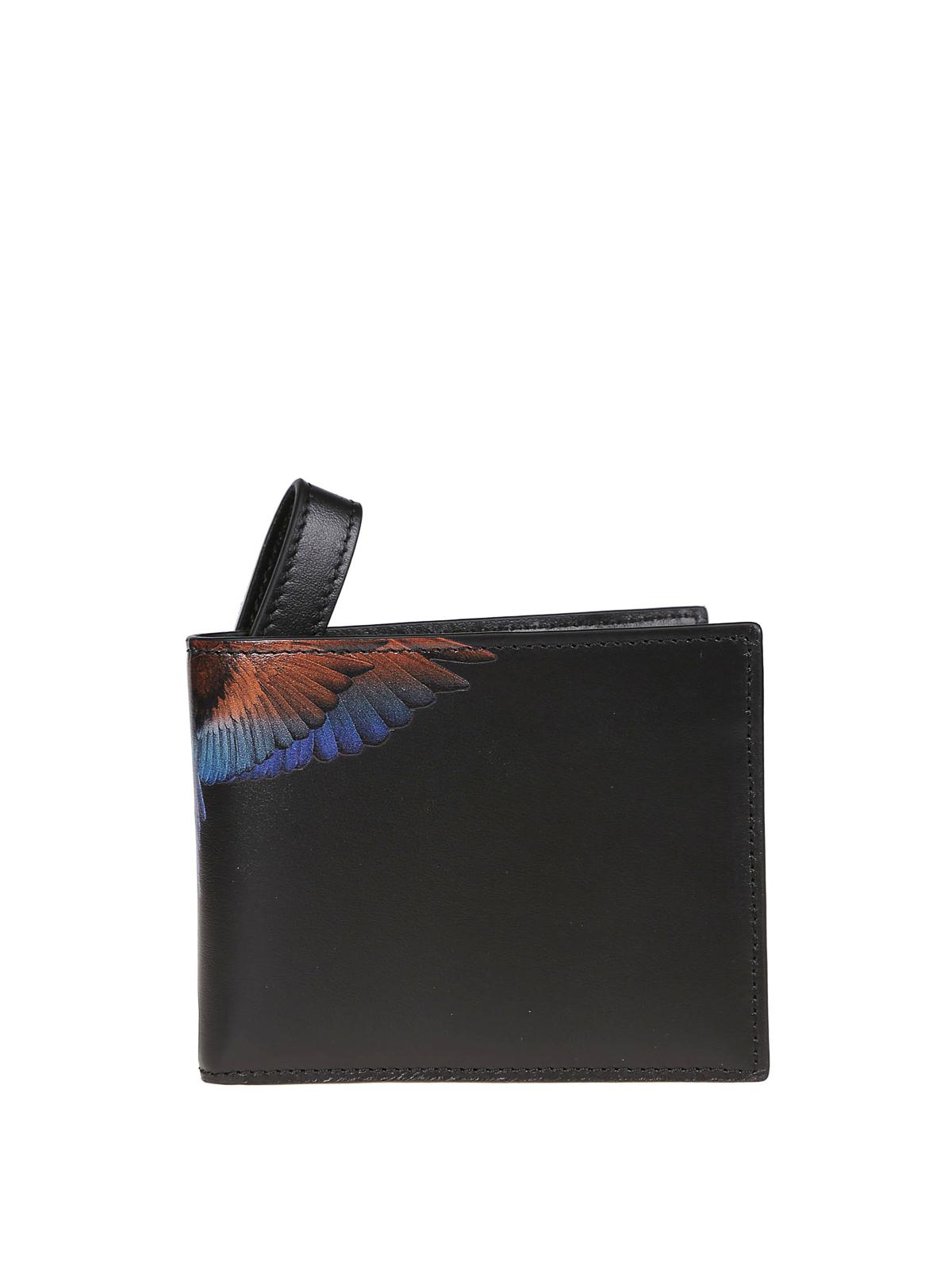 design di qualità a387d af2f4 Marcelo Burlon - Portafoglio Wings in pelle - portafogli ...