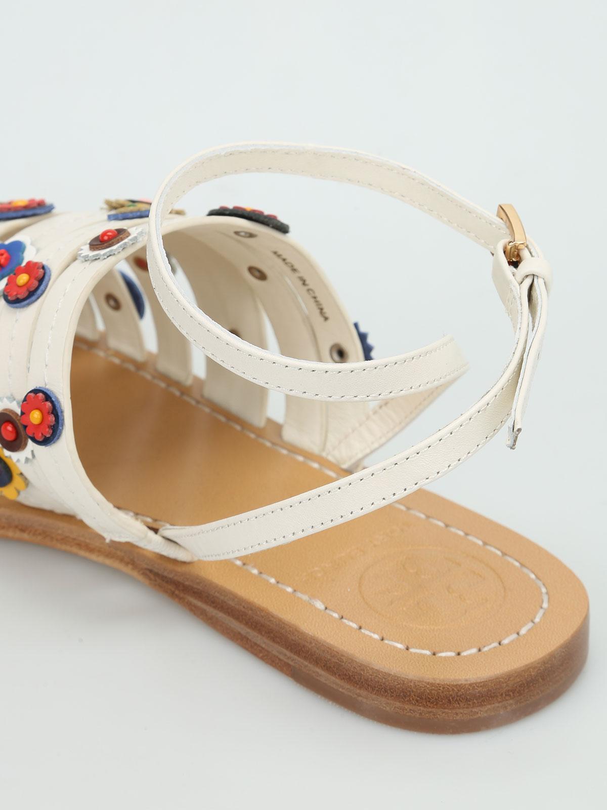 abc8e9ca9578e Tory Burch - Marguerite flat sandals - sandals - 35454 101