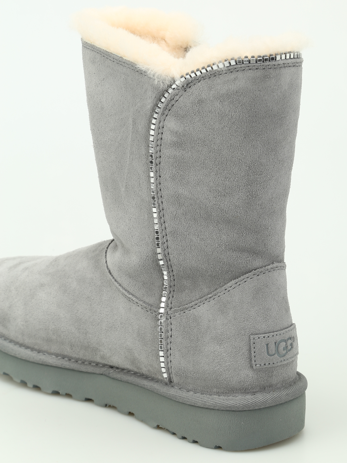 16d3bc414f4 Ugg - Marice grey suede booties - ankle boots - 1019633W GEYSER