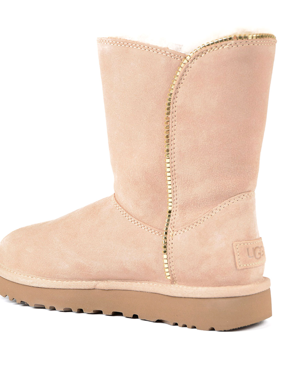 19bb02b2296 Ugg - Marice pink suede booties - ankle boots - 1019633 DRIFTWOOD