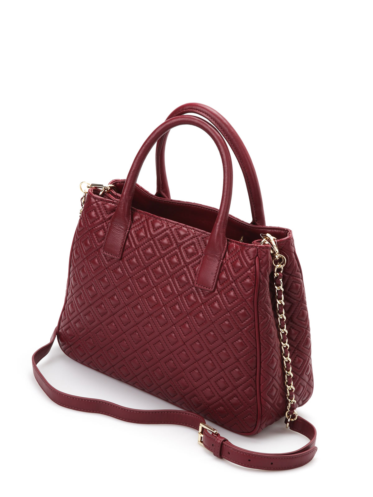 bag tory bags side comet burch slouchy chain quilt shoulder zoom on roll marion index in quilted to pink tote