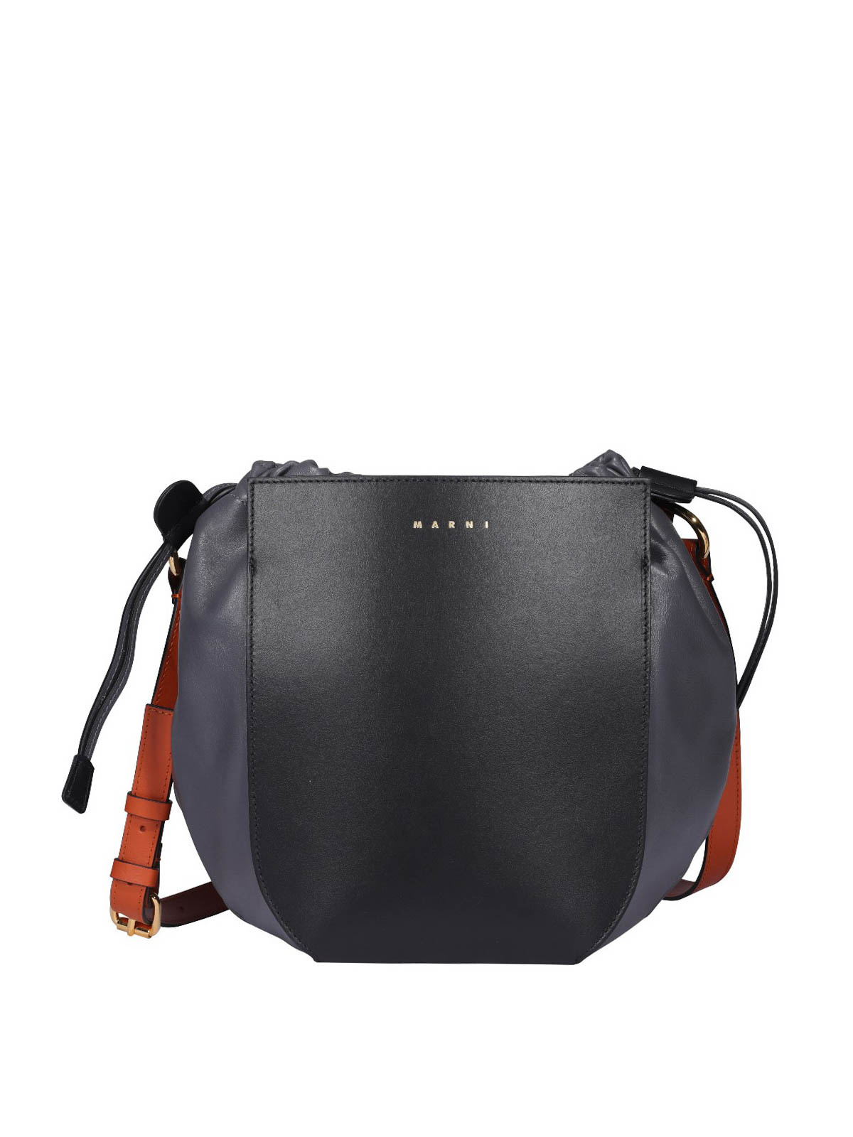 Marni LEATHER BUCKET BAG
