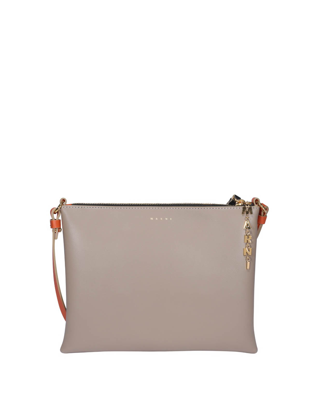 Marni SMOOTH LEATHER CLUTCH