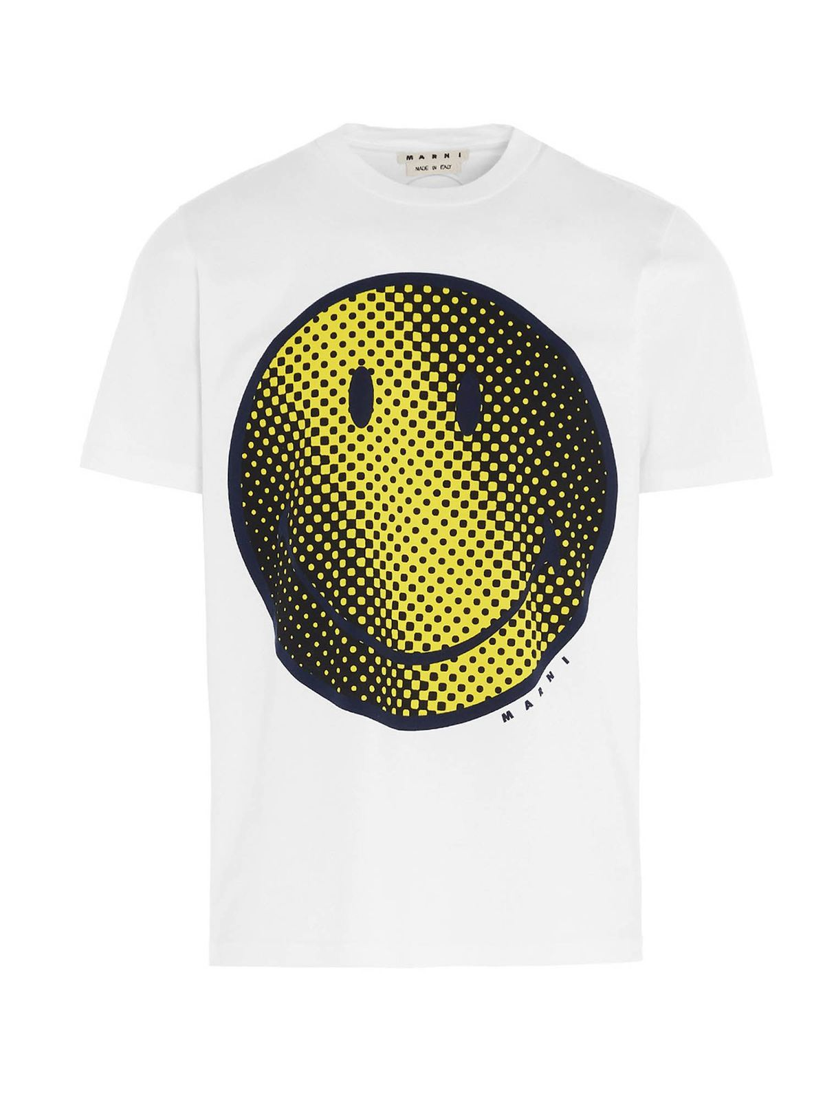 MARNI SMILEY T-SHIRT IN WHITE