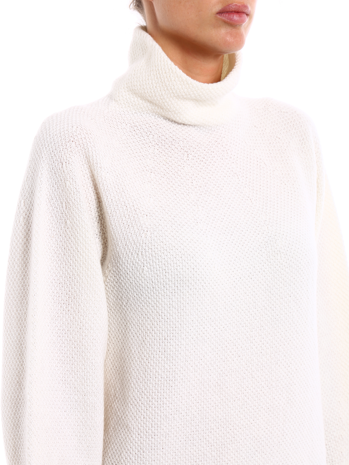 Belgio wool and cashmere sweater by Max Mara - Turtlenecks & Polo ...