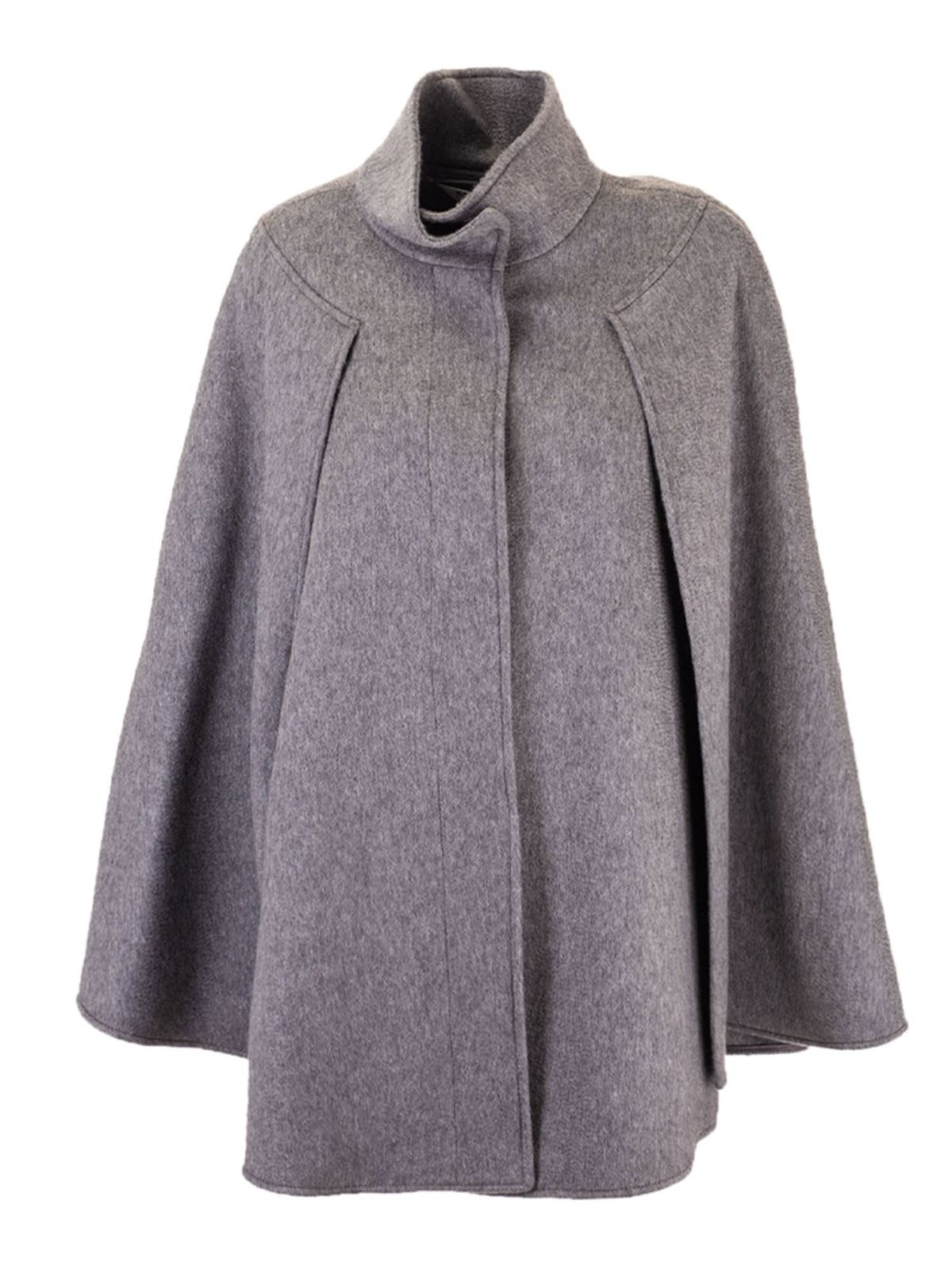 MAX MARA DANY CAPE IN GREY