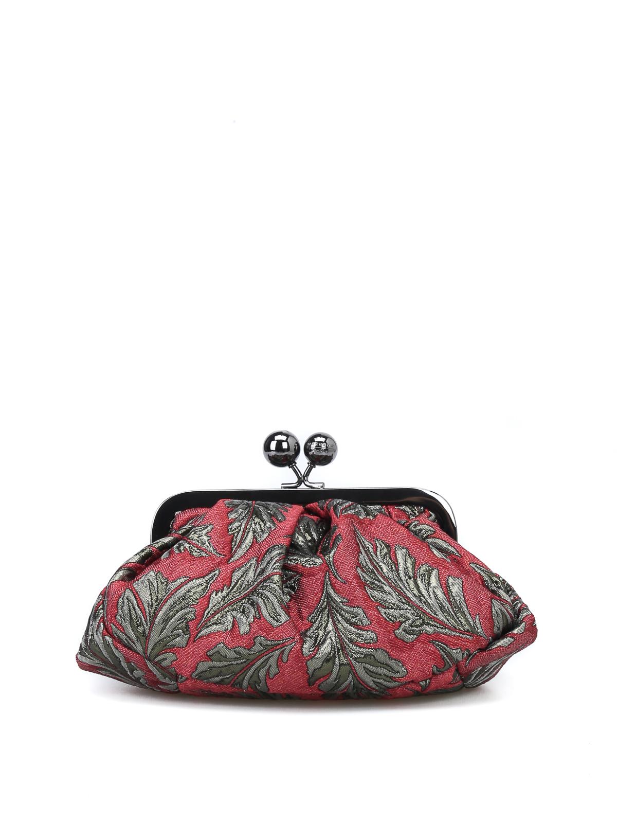 40280ed0be Max Mara - Pasticcino Bag Mini in tessuto jacquard - pochette ...