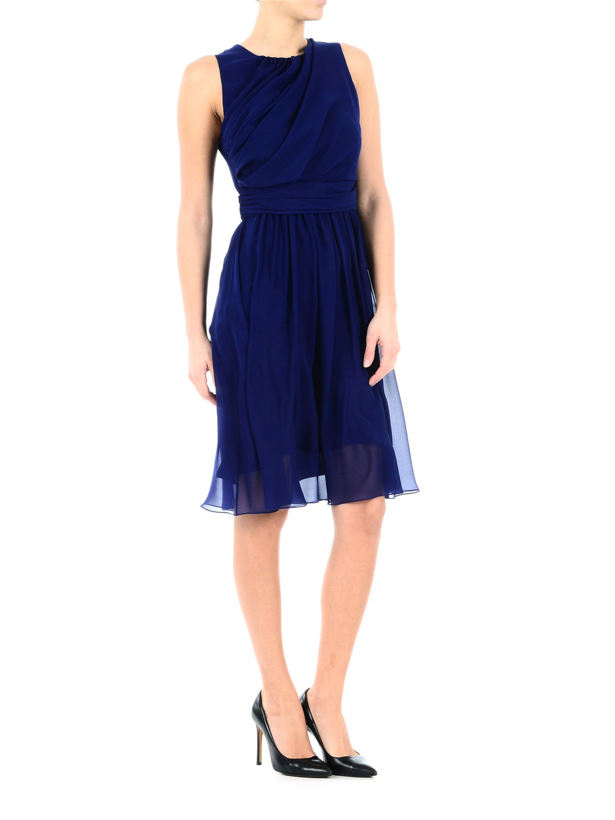 Electric blue Penny dress Max Mara 8B8OxFkox