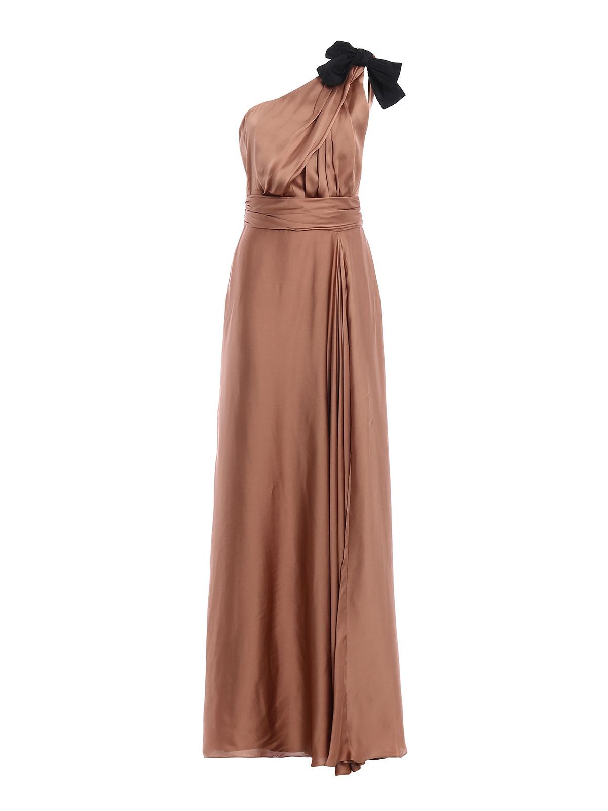Max Mara - Abendkleid - Bronze - Abendkleider - 15