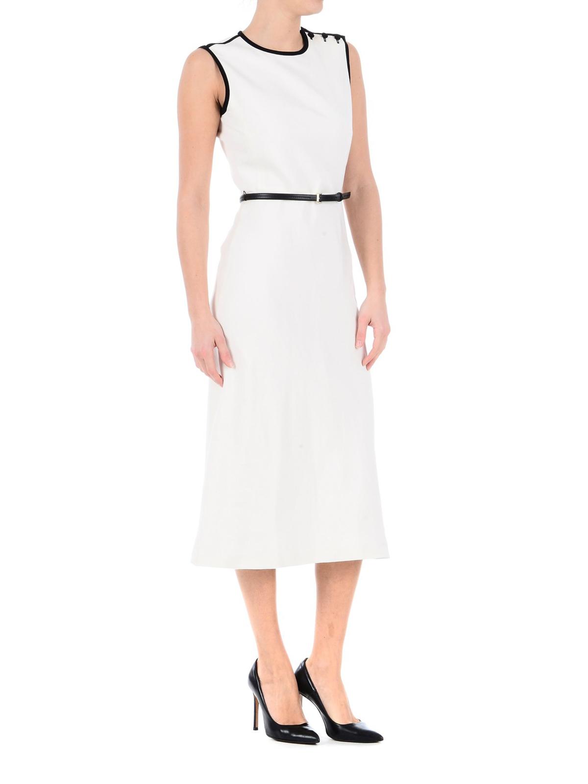 4edae665093 Max Mara  knee length dresses online - Saio linen and silk midi dress