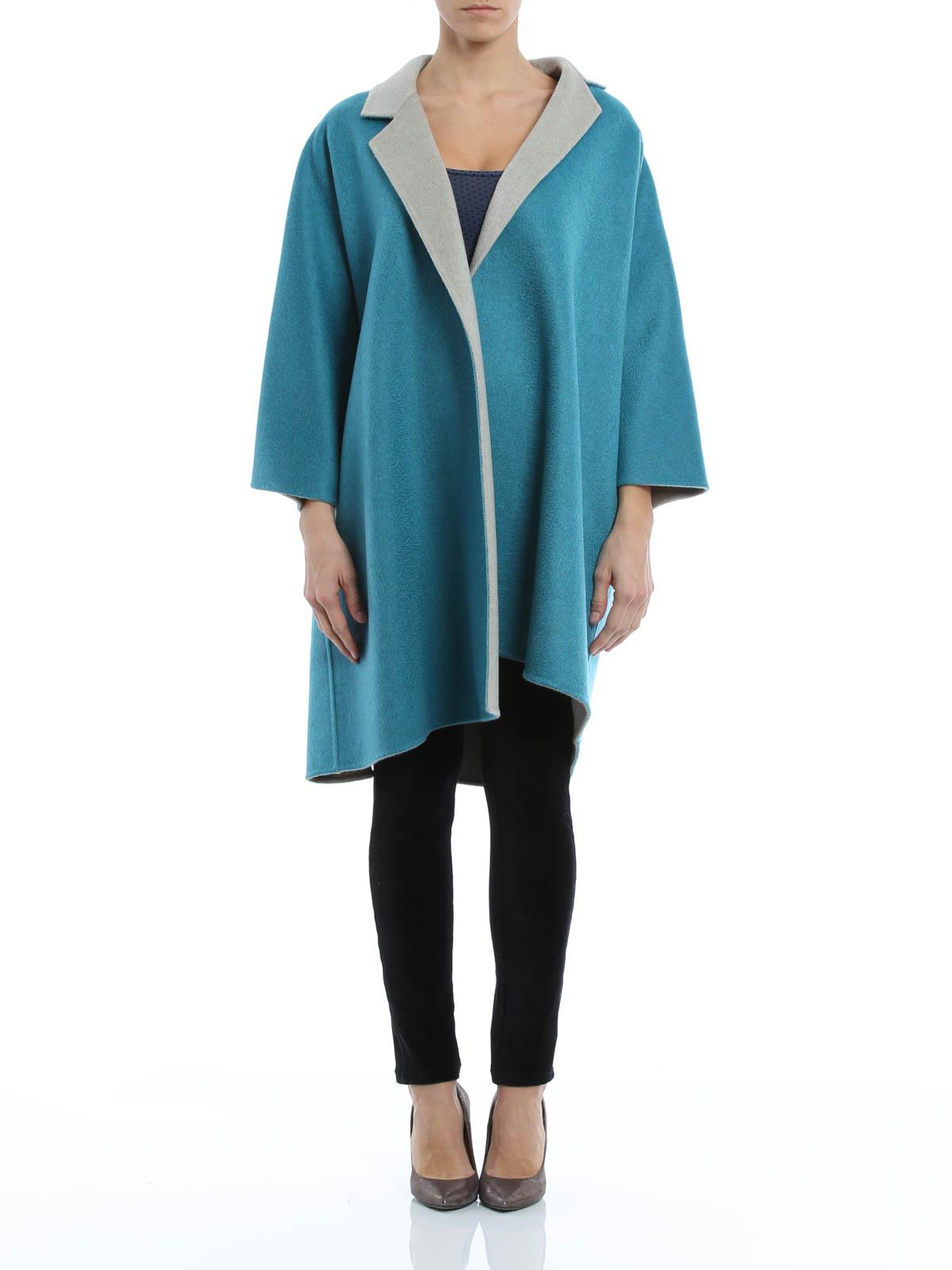 Scalata reversible cashmere coat by Max Mara - short coats | iKRIX