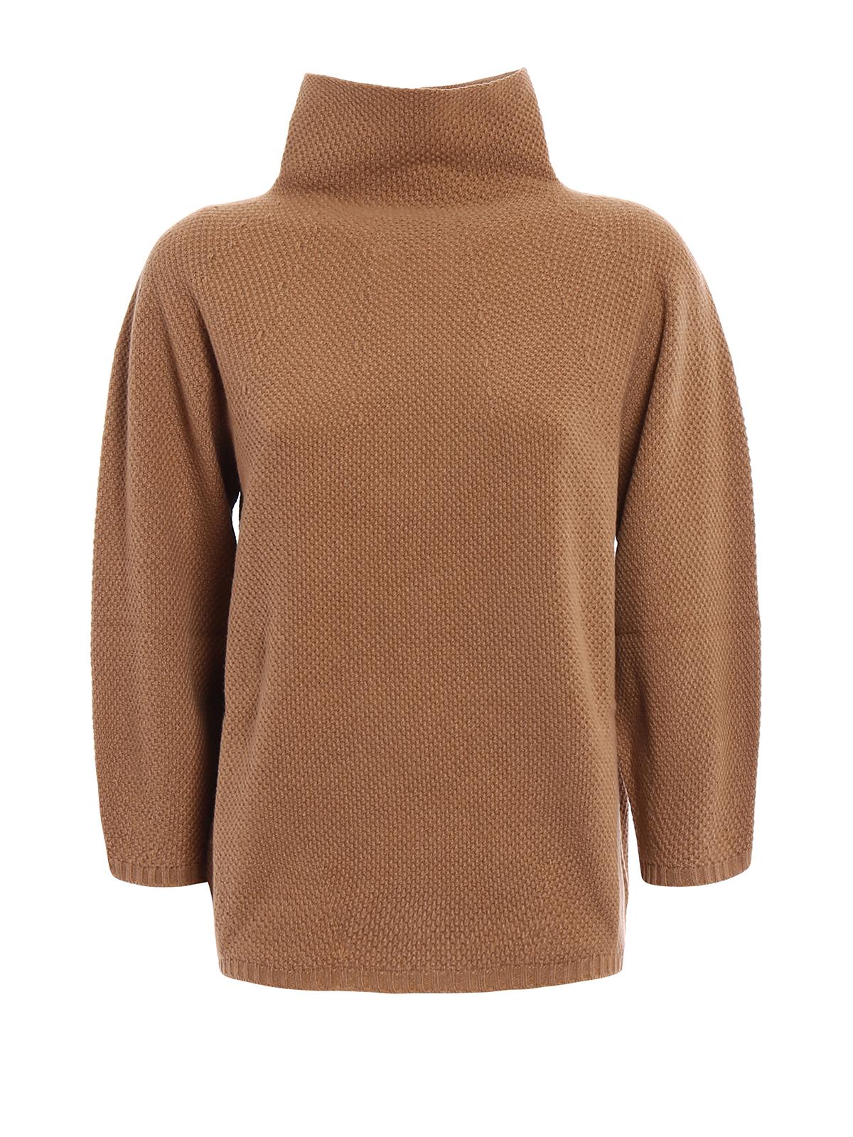 Max Mara - Dolcevita Belgio lana e cashmere - maglia a collo alto e ... b814916bfe8