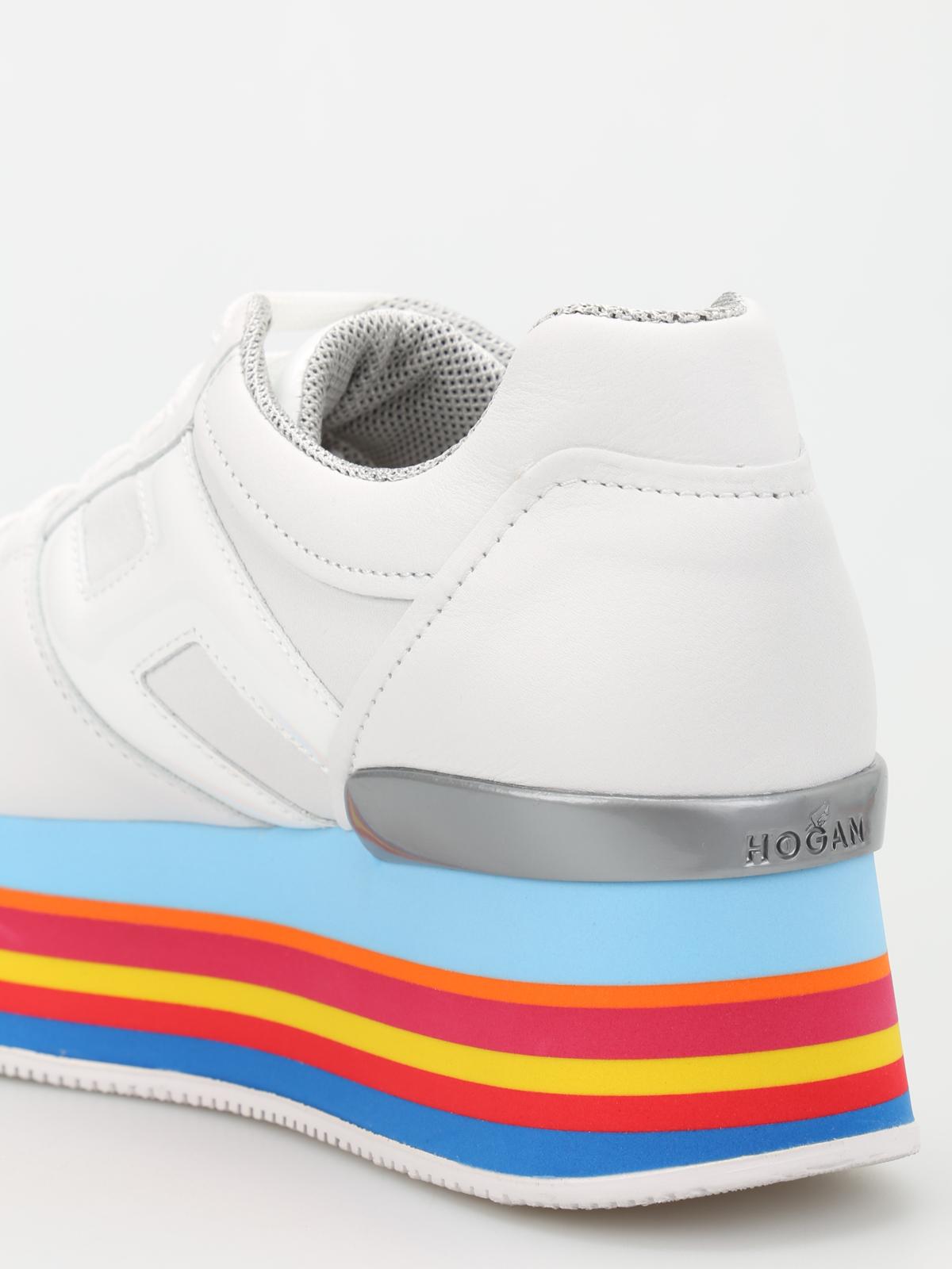 nouvelle arrivee 9ad6b 83b15 Hogan - Baskets Maxi H222 Pour Femme - Chaussures de sport ...