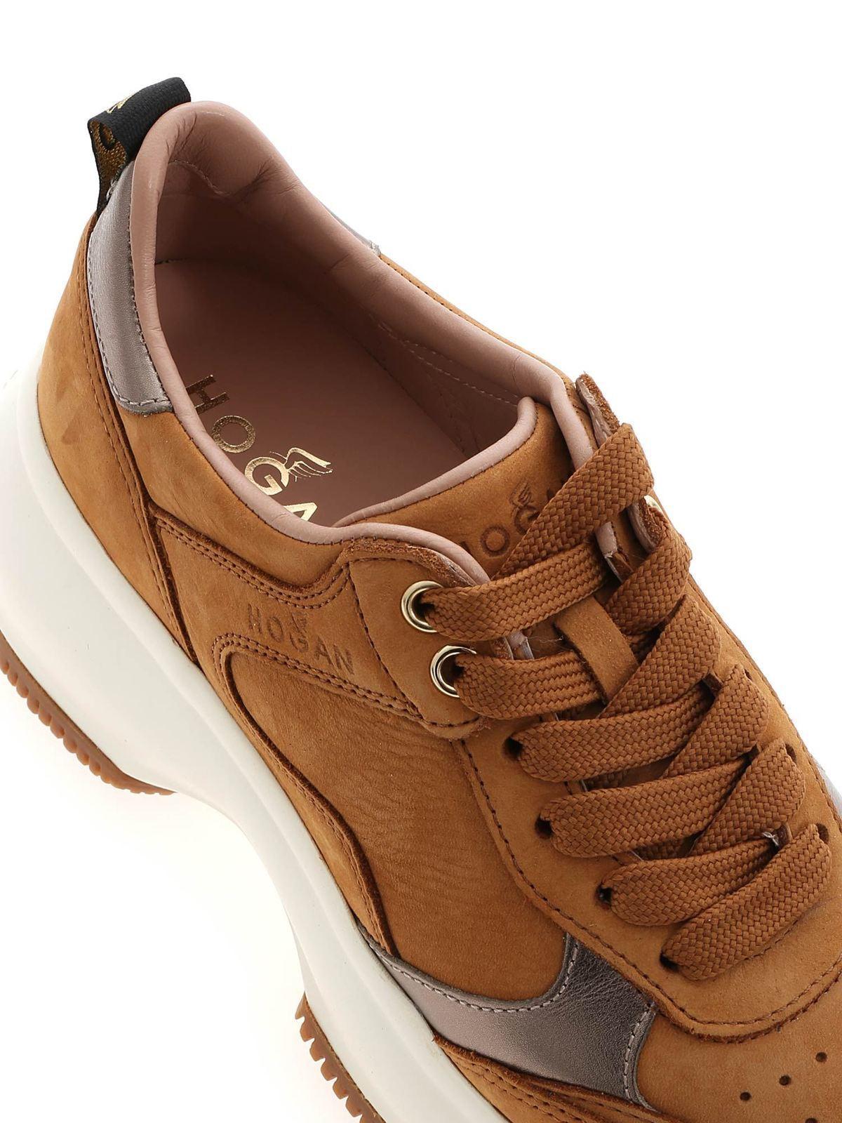Sneakers Hogan - Sneakers Maxi I Active color cammello ...