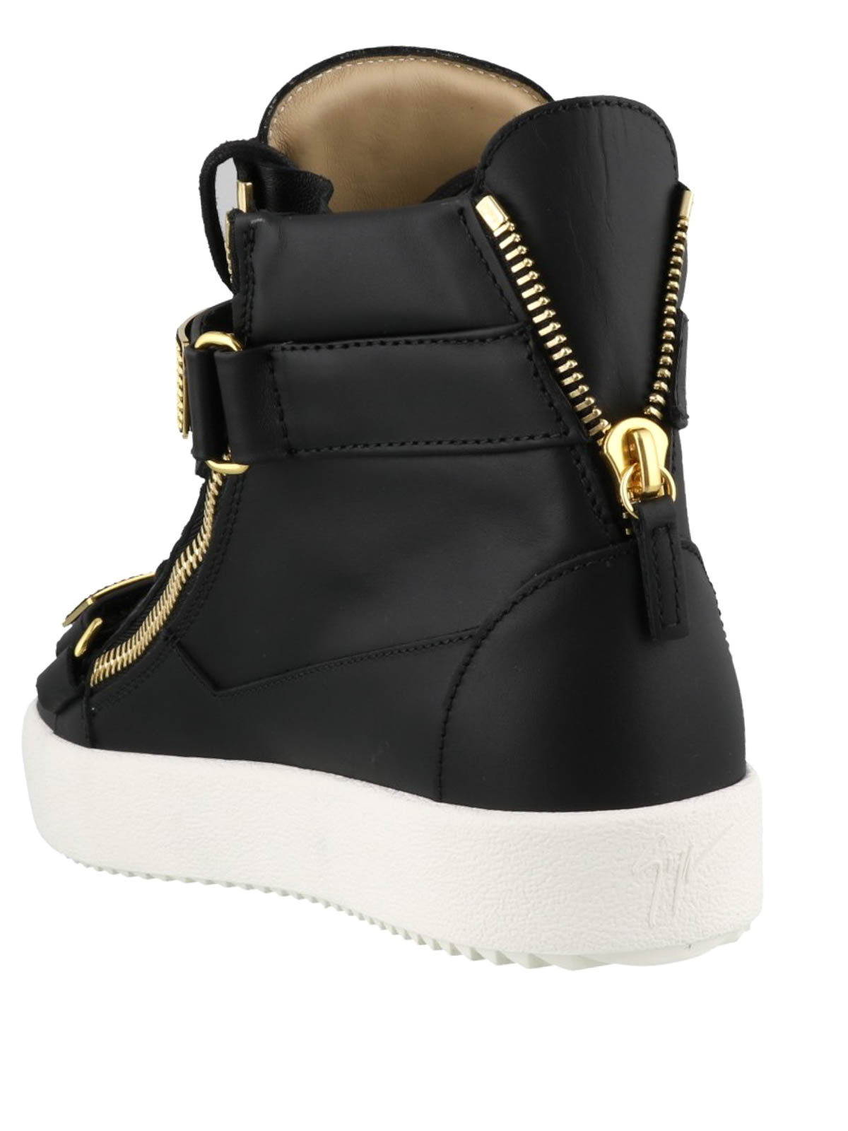 3119966498bb Giuseppe Zanotti - May London black and gold sneakers - trainers ...