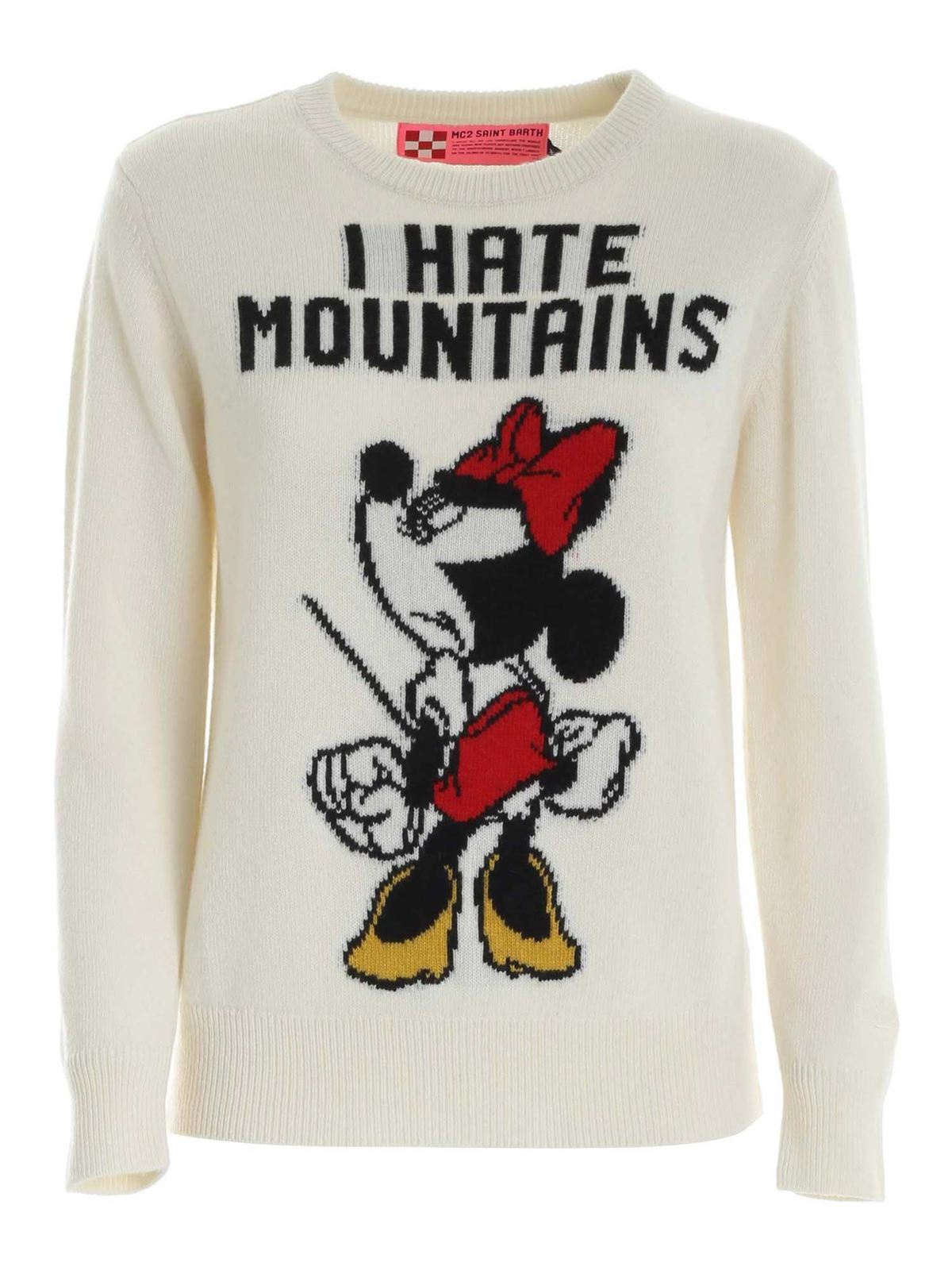 Mc2 Saint Barth ANGRY MINNIE EMBROIDERY PULLOVER
