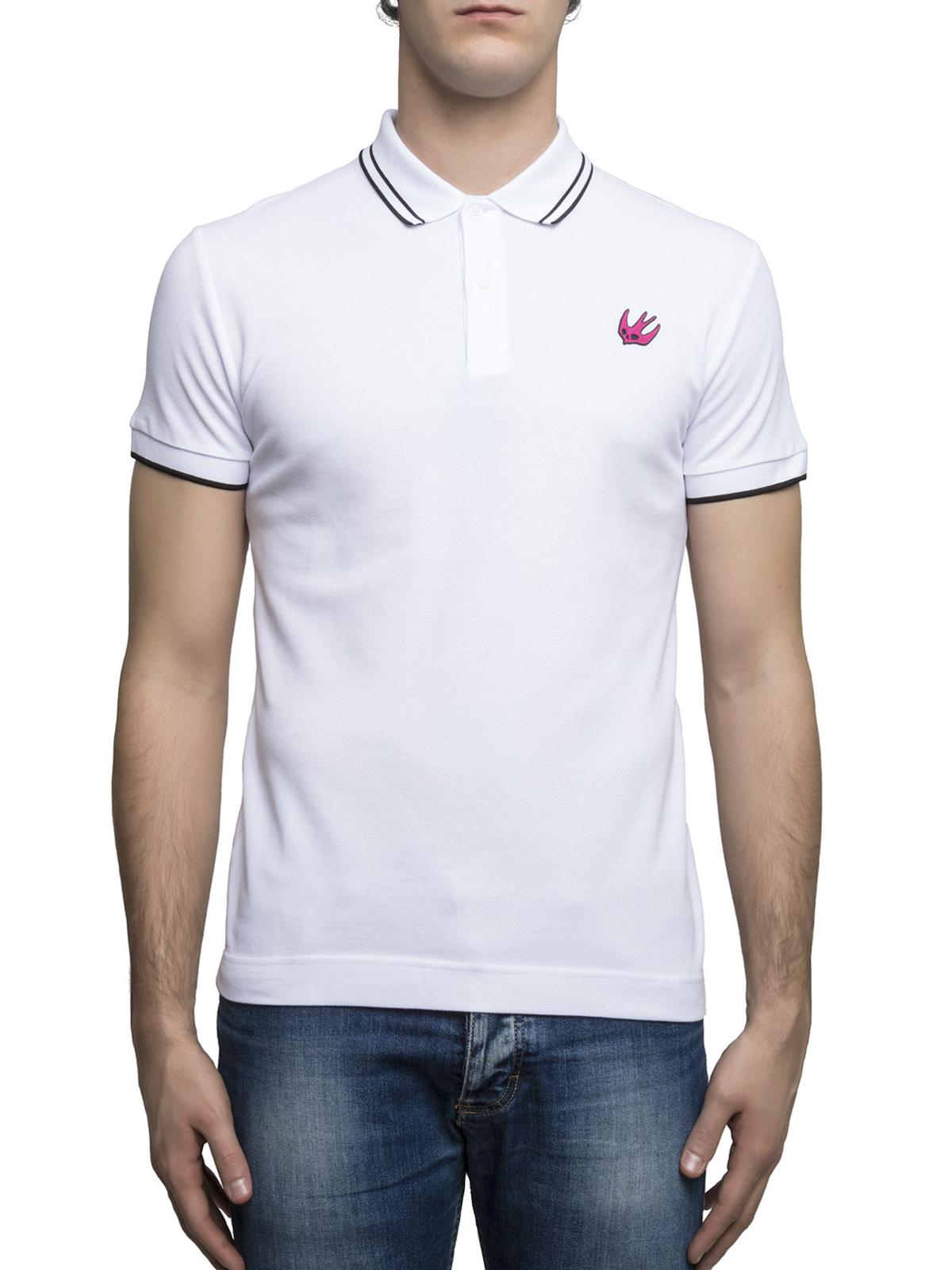 Mcq Swallow Embroidery Polo Shirt Polo Shirts 277624rht049000