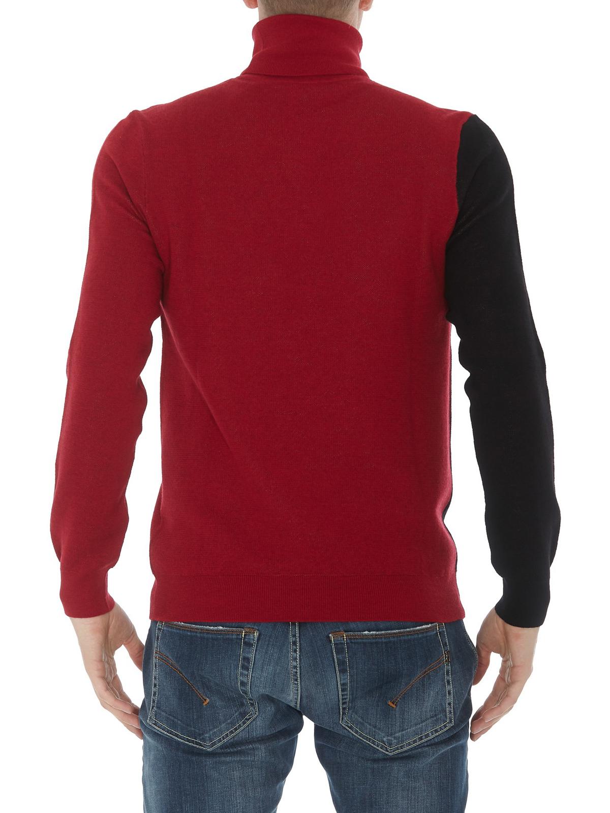 254a1c58b8 Versace Collection - Medusa head wool blend sweater - Turtlenecks ...