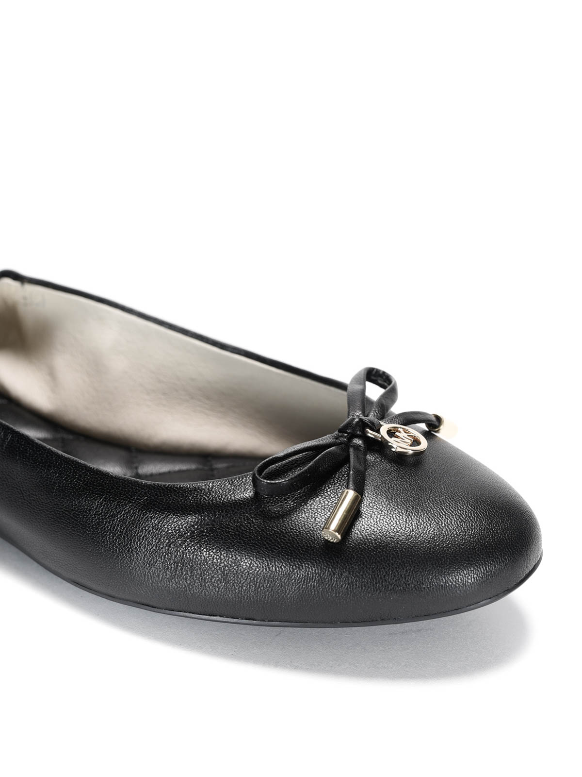 Melody Leather Flat Shoes By Michael Kors IKRIX