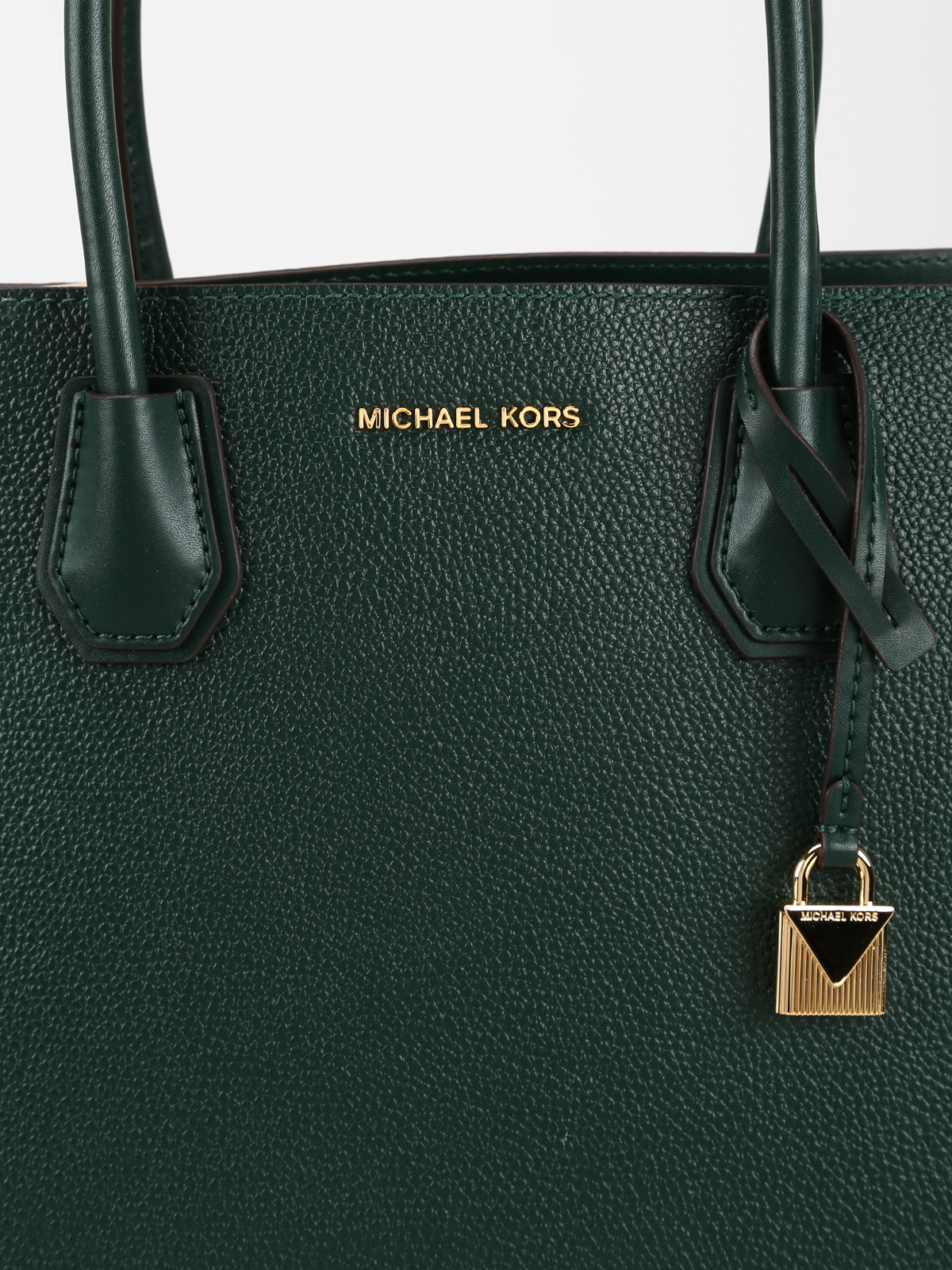 b51406b406d6 Michael Kors - Mercer dark green accordion large tote - totes bags ...
