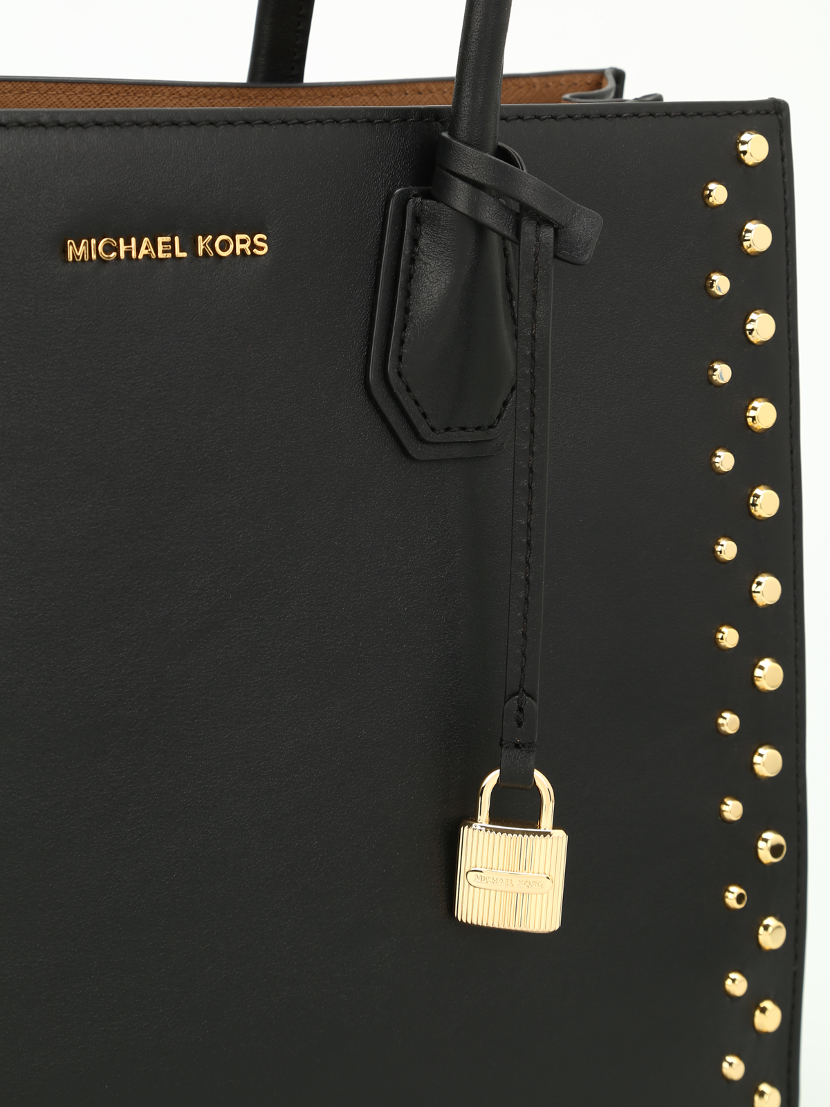 c9a514f120362 Michael Kors - Mercer studded leather large tote - totes bags ...