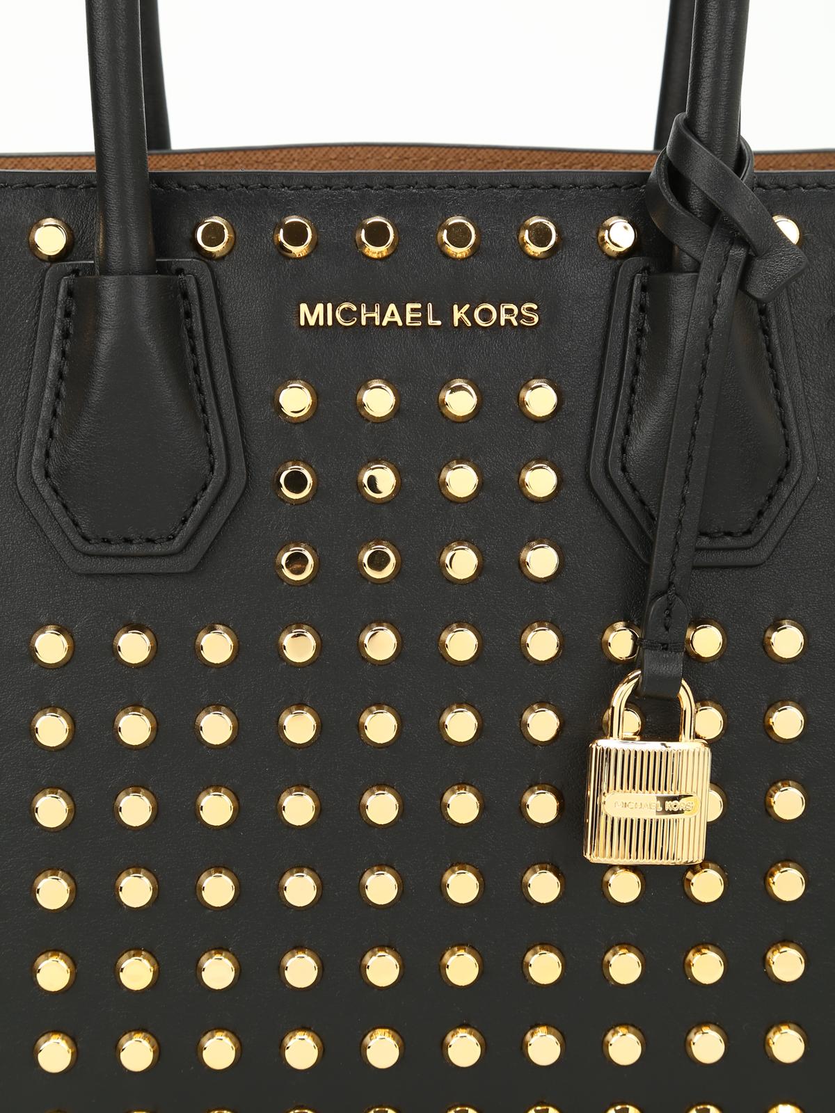 fa24b55028 Michael Kors - Borsa Mercer media con borchie - shopper - 30S7GZ4M2T 001