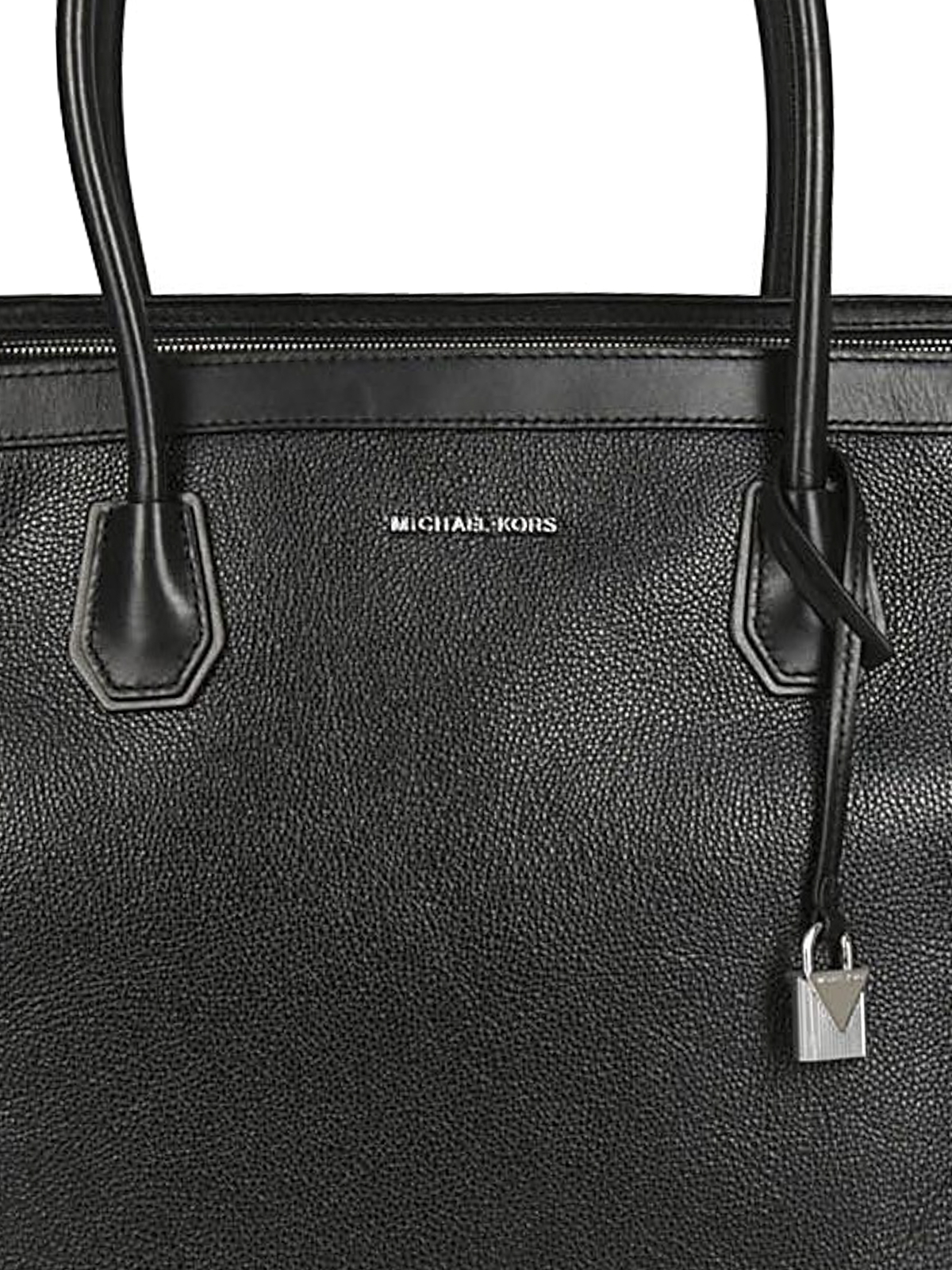 a902580537be Michael Kors - Mercer Studio L black leather tote - totes bags ...