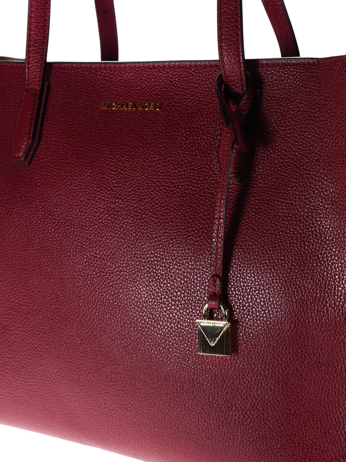 69f635c171266c Michael Kors - Mercer top zip large red tote - totes bags ...