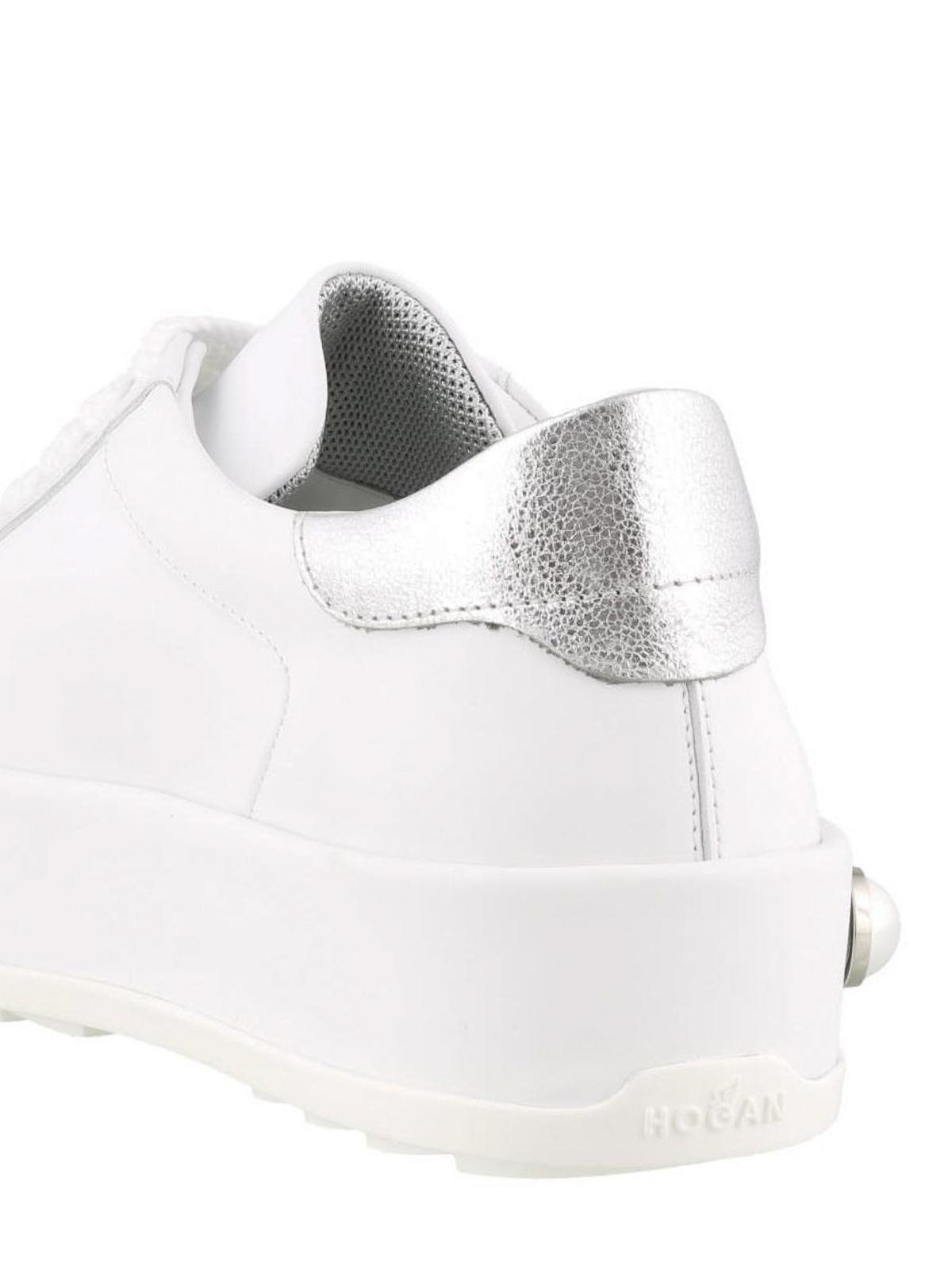 Trainers Hogan - Metallic detail H320 sneakers - HXW3800AG80JFD0351