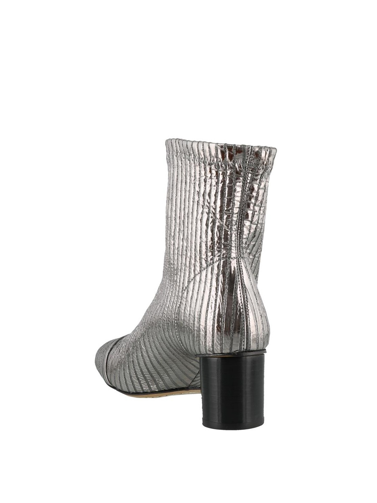 28a65bcced1 Isabel Marant - Metallic leather Datsy ankle boots - ankle boots ...