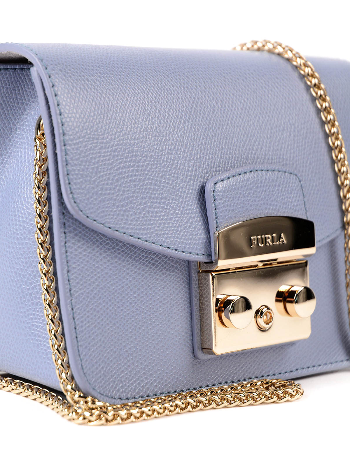 Metropolis Leather Mini Bag Online Furla