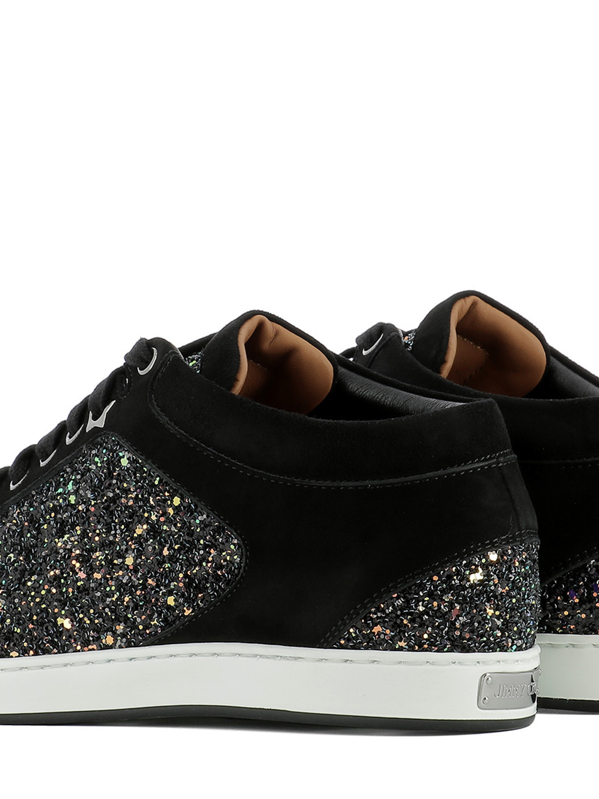 Jimmy Choo - Miami suede and glitter