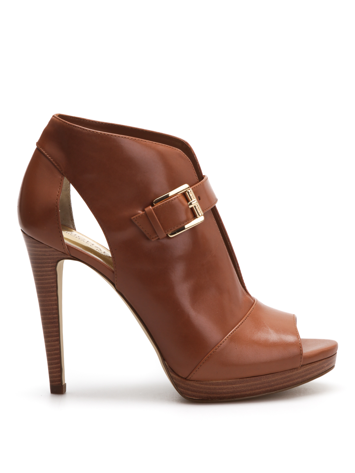 Isabella Leather Pump By Michael Kors Ankle Boots Ikrix
