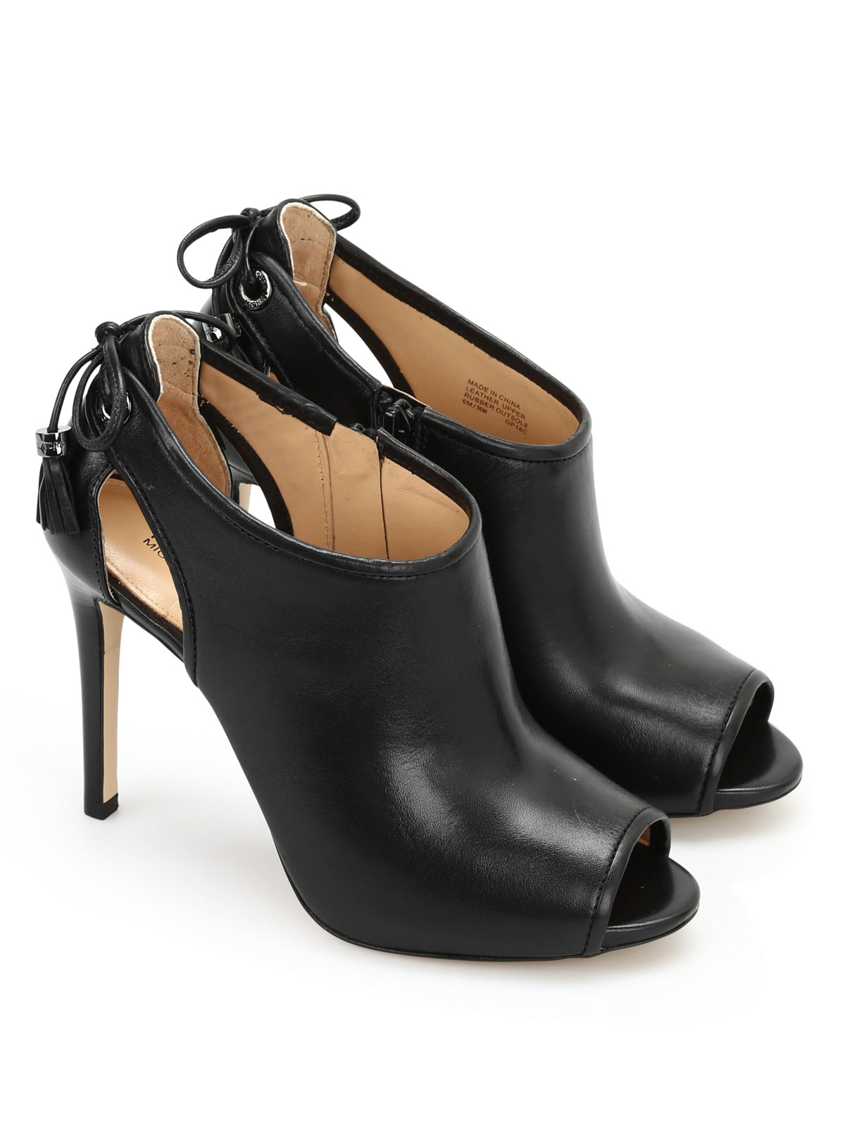 jennings booties by michael kors ankle boots ikrix. Black Bedroom Furniture Sets. Home Design Ideas