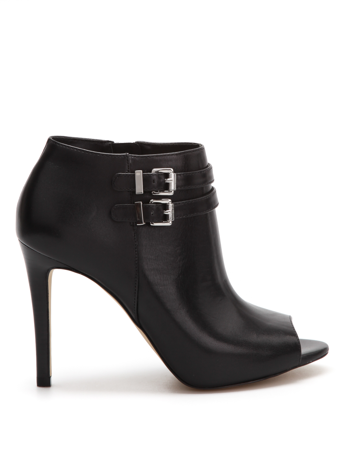 open toe leather ankle boots by michael kors ankle boots. Black Bedroom Furniture Sets. Home Design Ideas