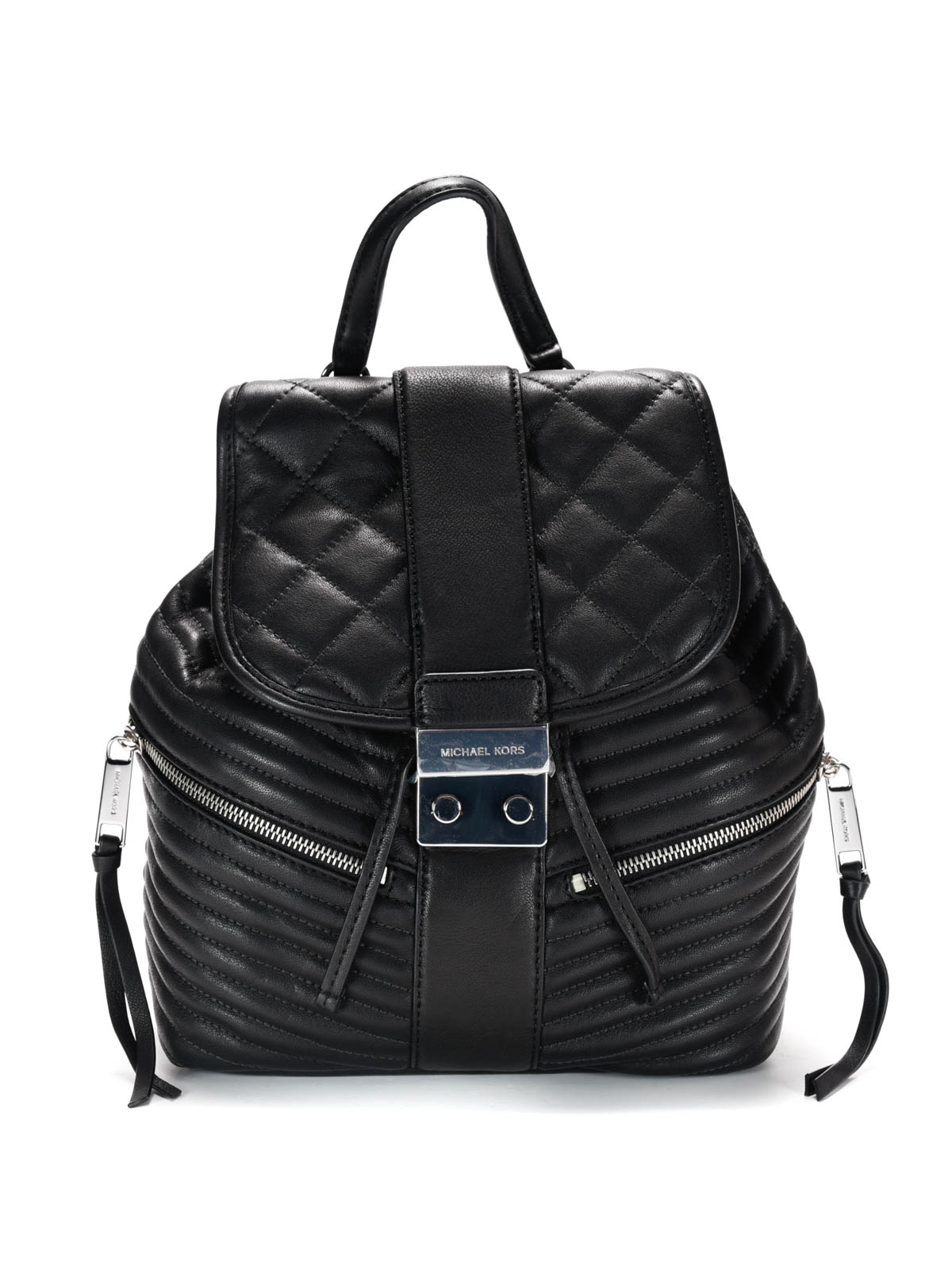elisa quilted leather backpack by michael kors backpacks. Black Bedroom Furniture Sets. Home Design Ideas