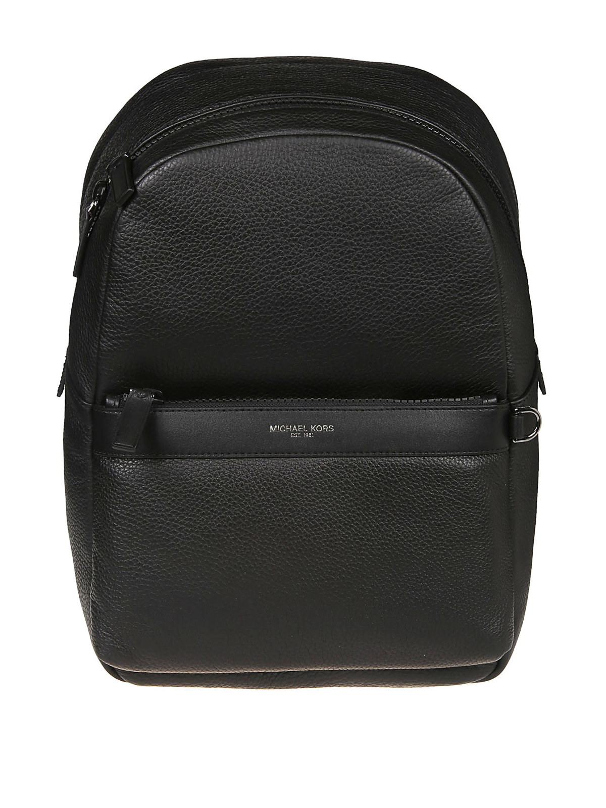 4994585a707575 Michael Kors - Greyson black pebble leather backpack - backpacks ...