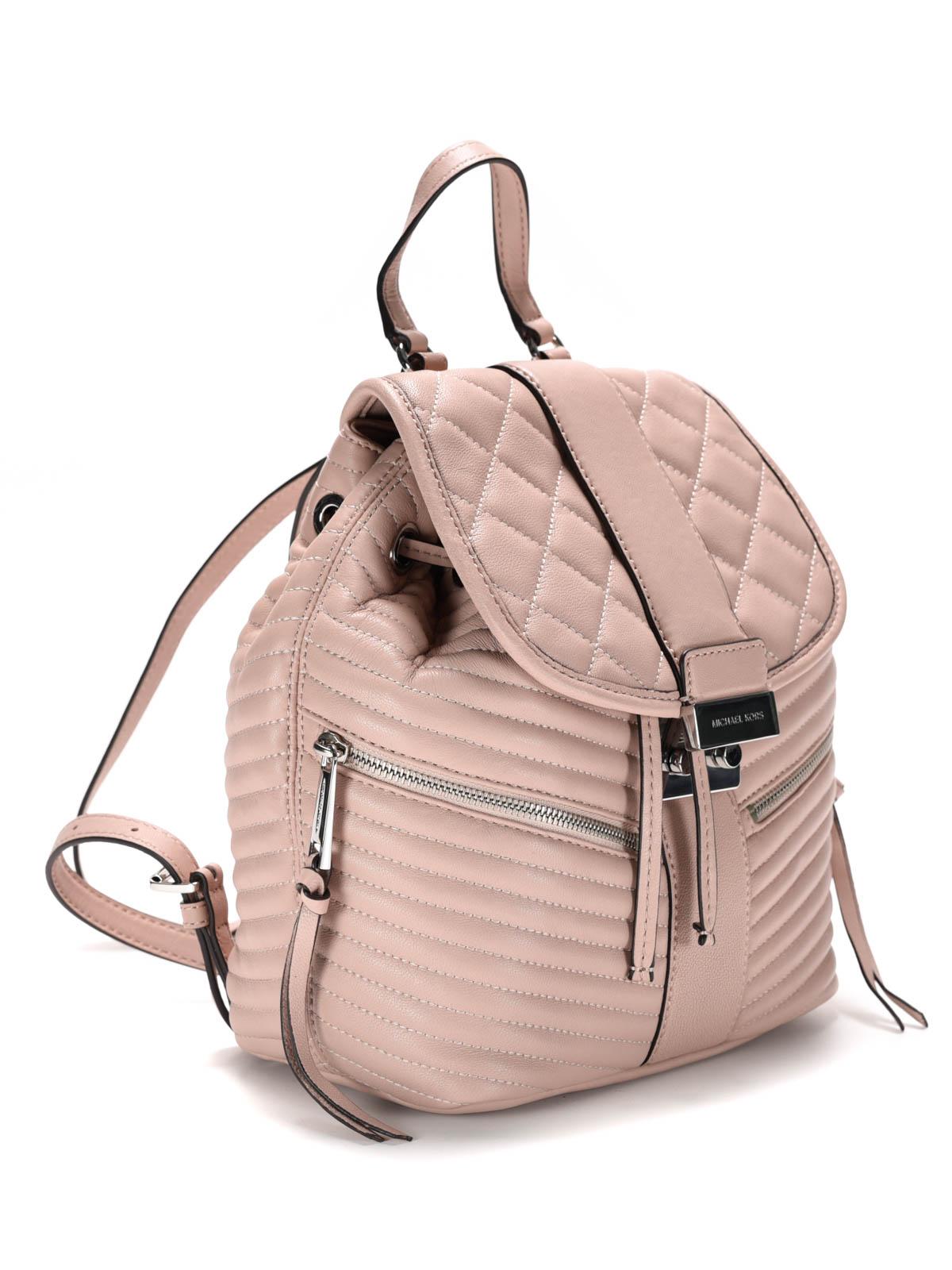 elisa quilted leather backpack by michael kors backpacks ikrix. Black Bedroom Furniture Sets. Home Design Ideas