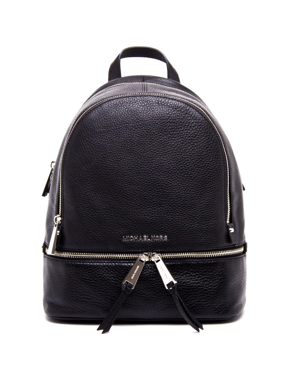 rhea small leather backpack by michael kors backpacks ikrix. Black Bedroom Furniture Sets. Home Design Ideas