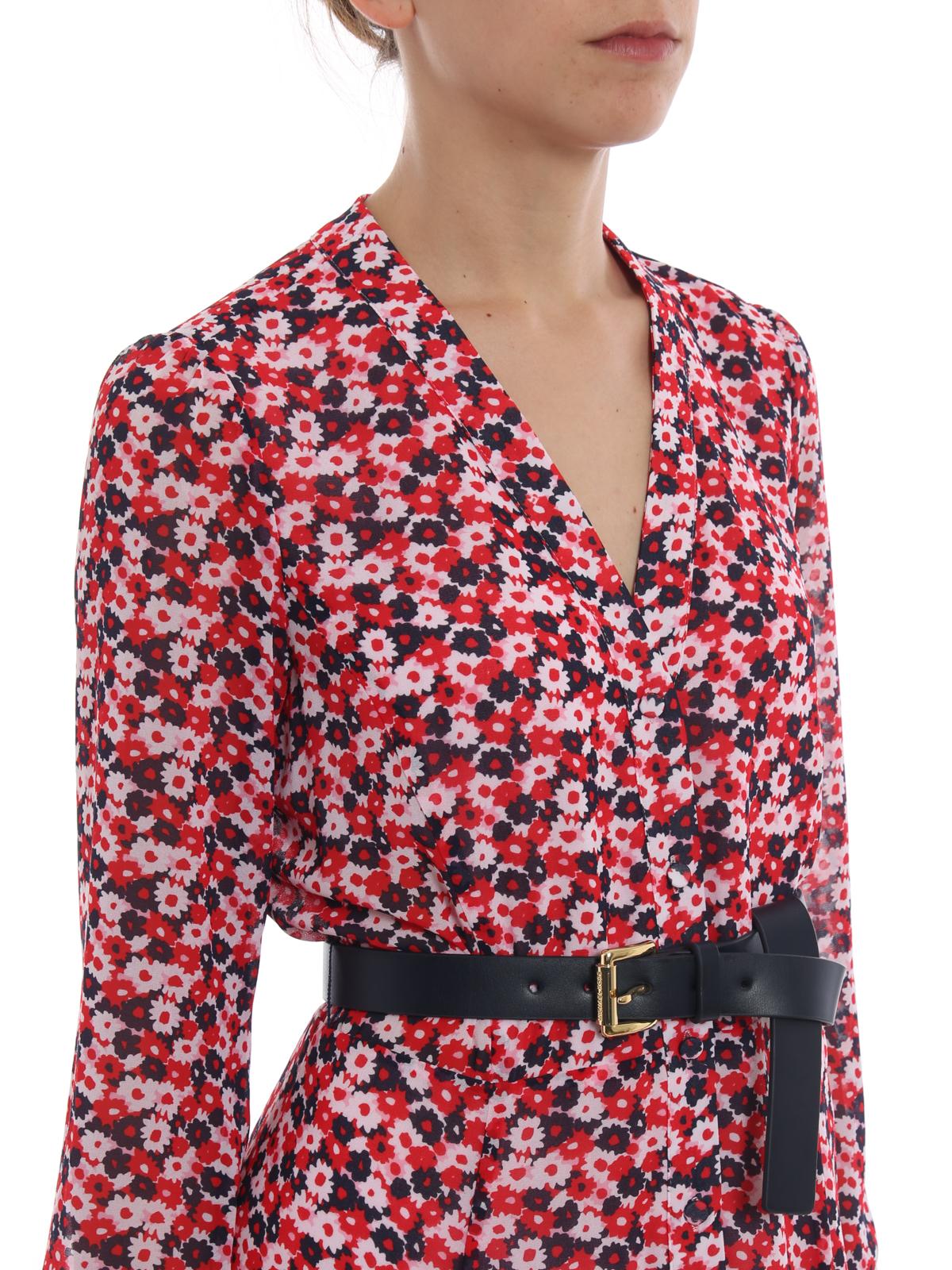 Fl Shirt Dress Maxi Dresses
