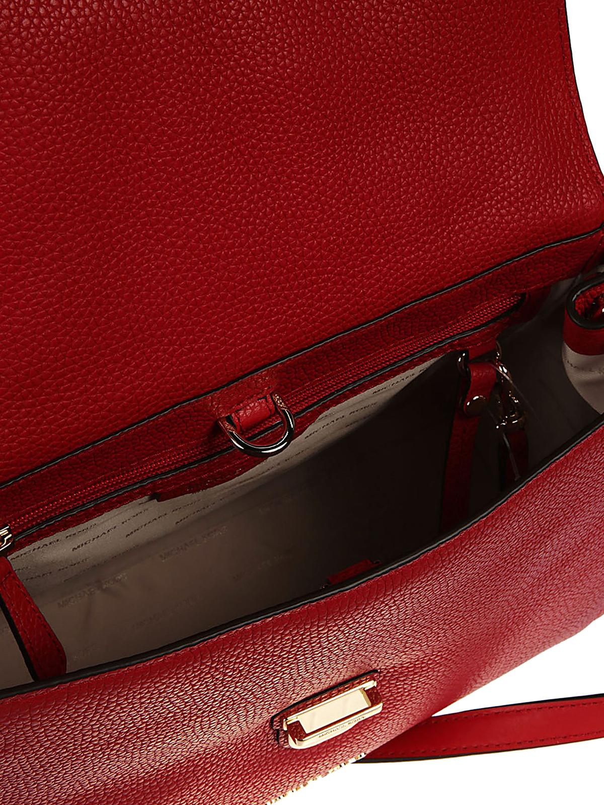 40fd8335b75a MICHAEL KORS buy online Bristol leather bag. MICHAEL KORS: bowling bags ...