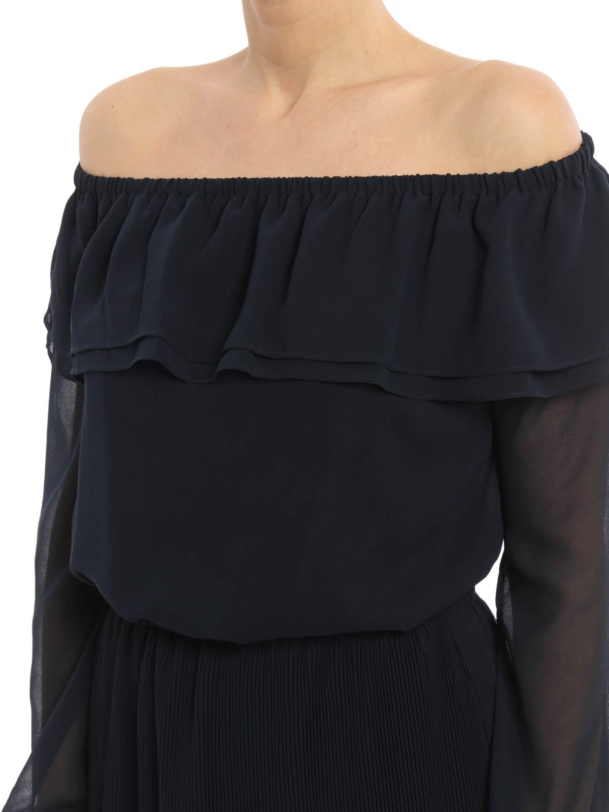 ea1b0df6d MICHAEL KORS buy online Vestido Corto Azul Oscuro. MICHAEL KORS  Vestidos  cortos ...