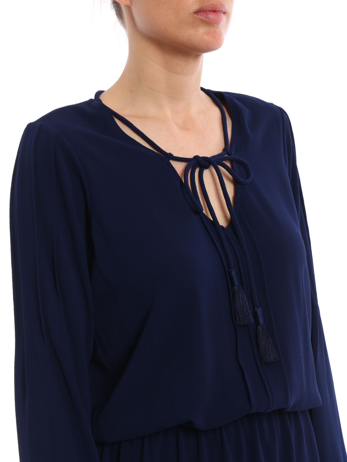 2a073fea3 MICHAEL KORS buy online Vestido Corto Azul Oscuro · MICHAEL KORS  Vestidos  cortos ...