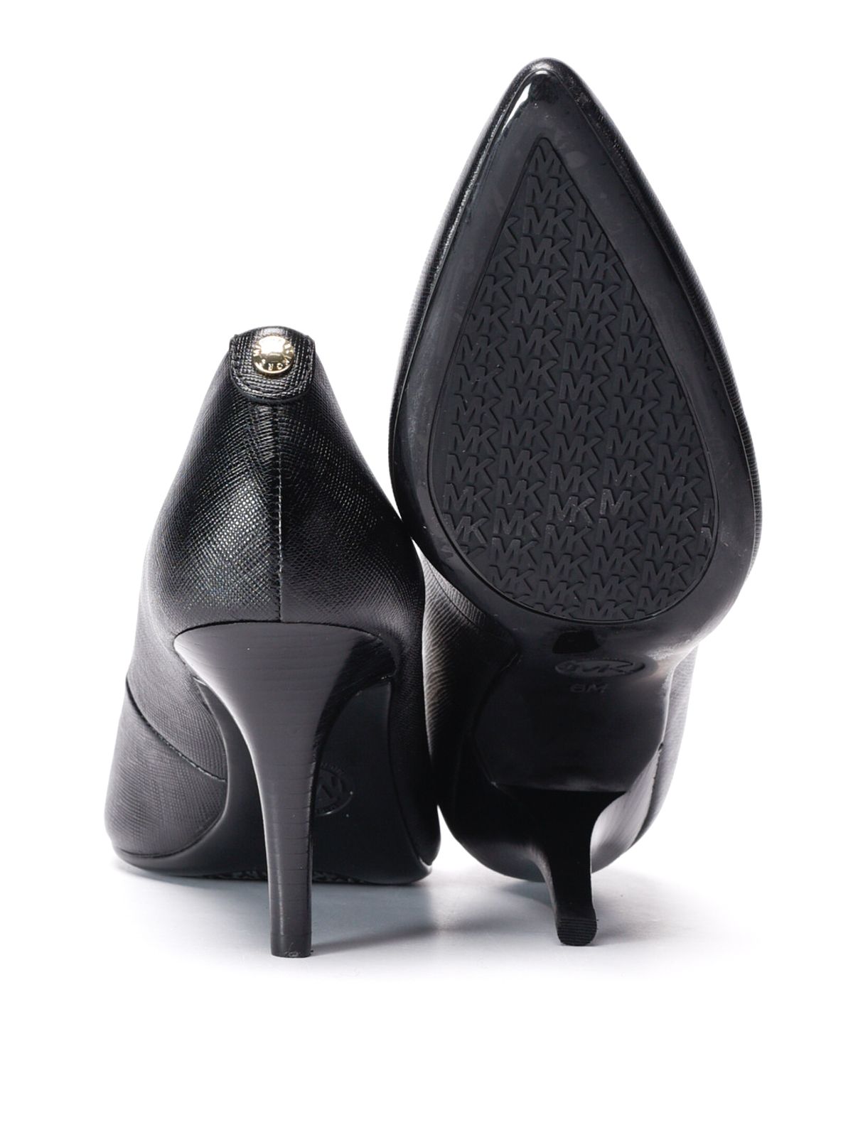 flex leather mid pumps by michael kors court shoes ikrix. Black Bedroom Furniture Sets. Home Design Ideas