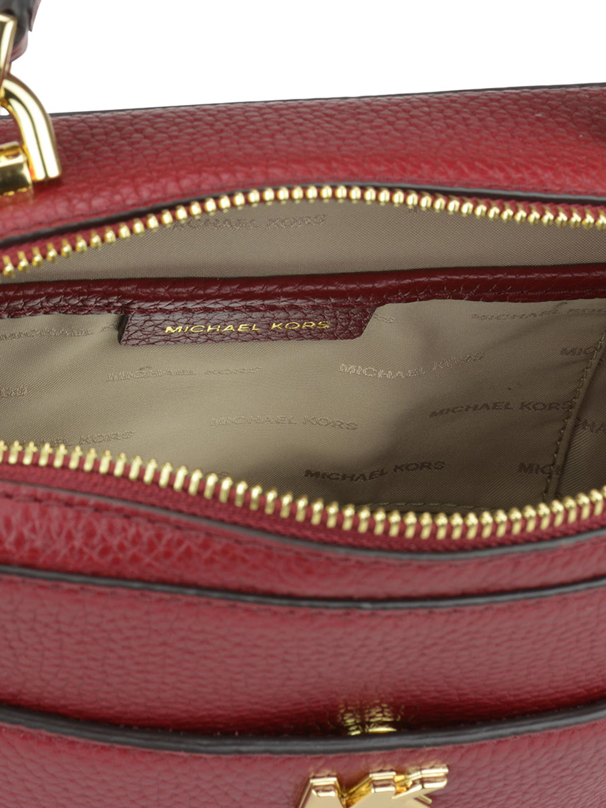 6d6c9c837bf5 MICHAEL KORS buy online Grained leather briefcase style bag. MICHAEL KORS  cross  body bags ...