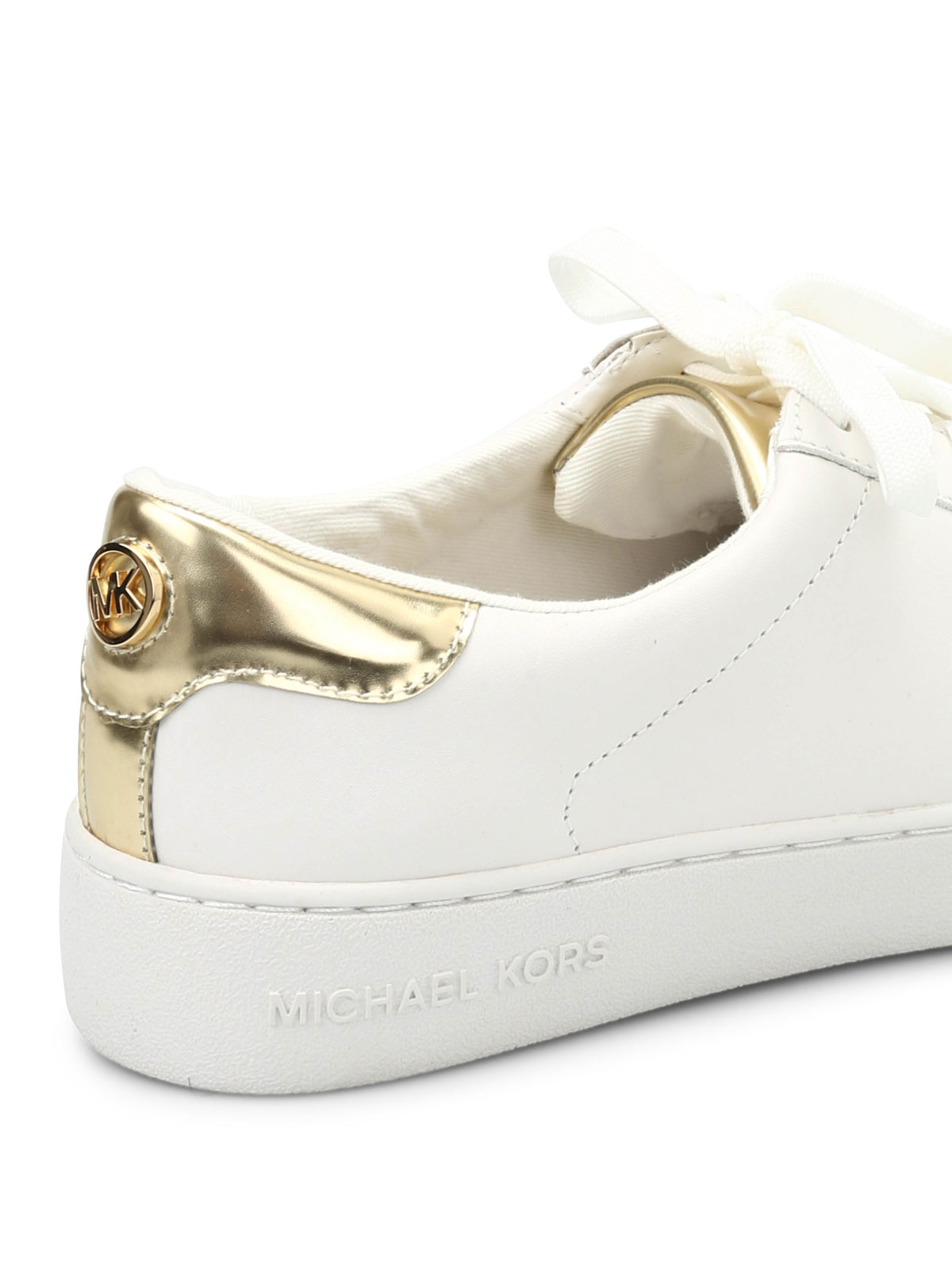 Michael Kors - Irving leather sneakers