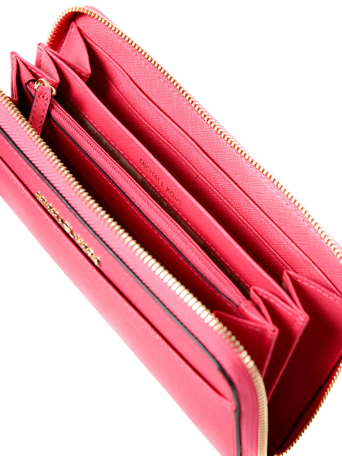 1f0ee01b7fa0 Michael Kors - Jet Set continental leather wallet - wallets & purses ...
