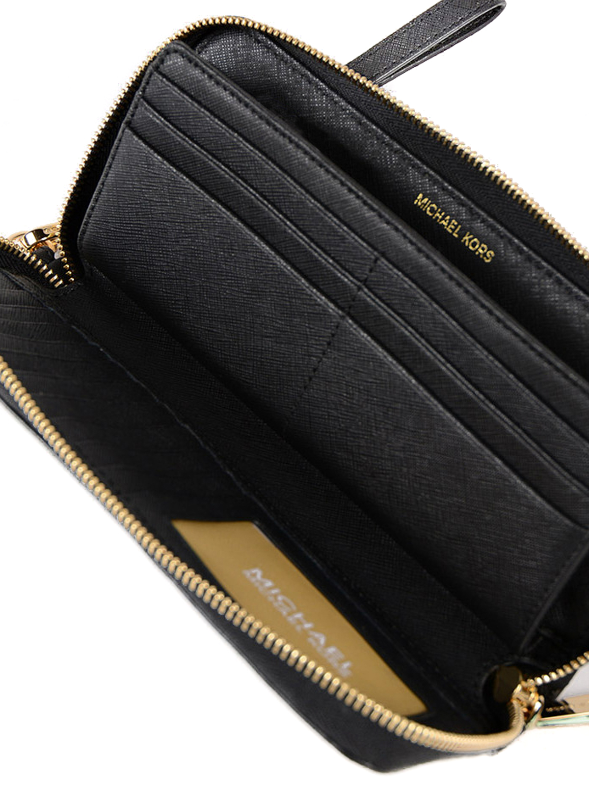 5bf031d0c4cd MICHAEL KORS buy online Jet Set Travel black wallet. MICHAEL KORS: wallets  & purses ...