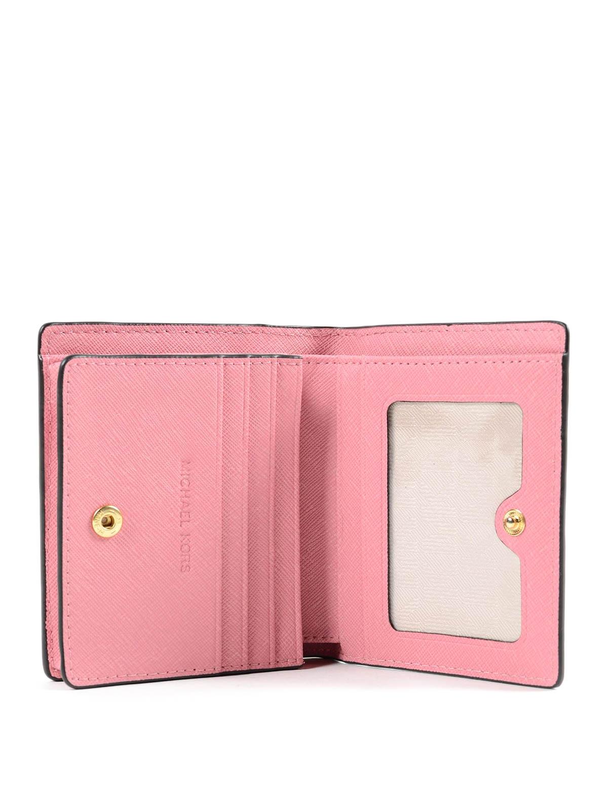 7cbb35da9506b Michael Kors - Portemonnaie Jet Set Travel - Pink - Portemonnaies ...