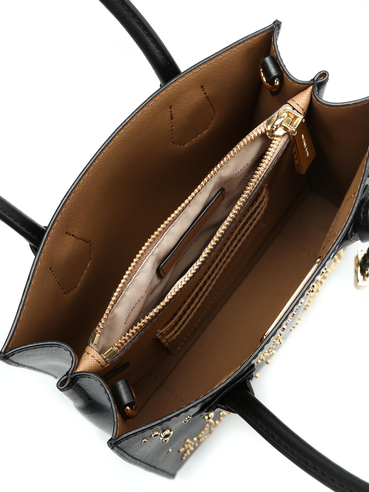 Michael Kors Borsa Mercer M con stelle e borchie borse a